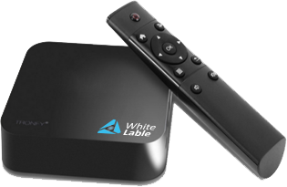 Cast-TV white label STB TV box and android App